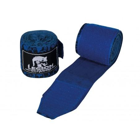Bandages De Boxe Blue Skull - ArtMartial-Shop.fr