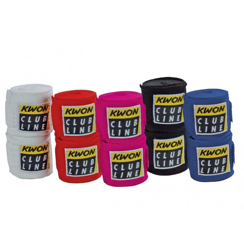 Bandage de boxe élastiques 2,5 m - ArtMartial-Shop.fr
