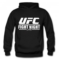 Hoodie UFC - Noir - Artmartial-shop.fr