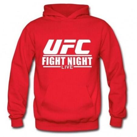 Hoodie UFC - Rouge - Artmartial-shop.fr
