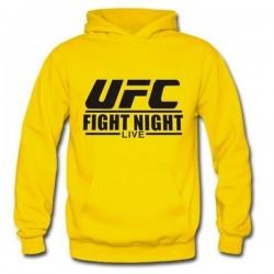 Hoodie UFC - Jaune - Artmartial-shop.fr