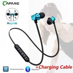 Casque sans fil Bluetooth écouteurs magnétique - AMS