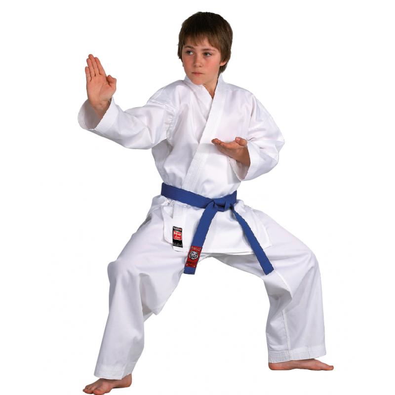 Karate-Gi Blanc de Danrho AMS - Artmartial-shop.fr