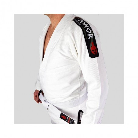 KIMONO HONOR SPARTIATE DE JJB BLANC AMS - Artmartial-shop.fr