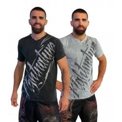 T-Shirt V-Neck de FIGHTNATURE AMS - Artmartial-shop.fr